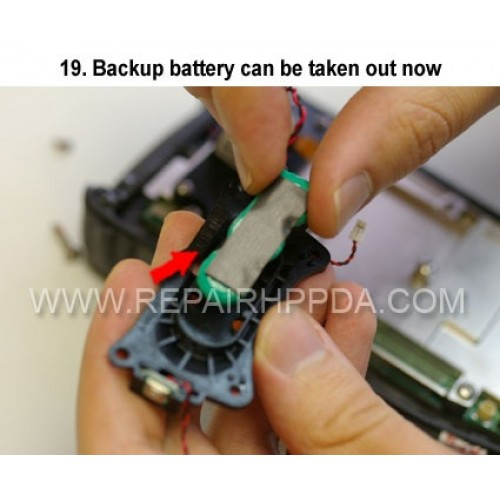 19. Backup battery can be taken out now