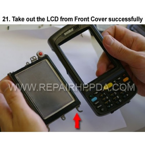 21. Take out the LCD from Front Cover successfully