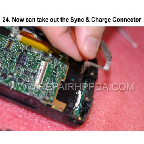 24. Now can take out the Sync & Charge Connector