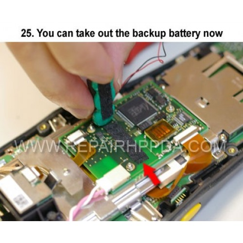 how do you take the battery out of an iphone 25 you can take out the backup battery now 9874
