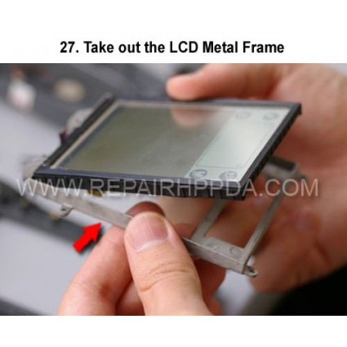 27. Take out the LCD Metal Frame