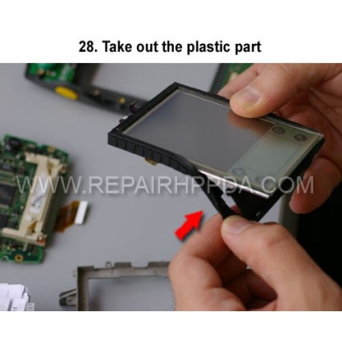 28. Take out the plastic part