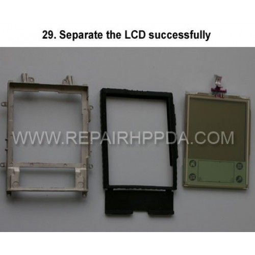 29. Separate the LCD successfully