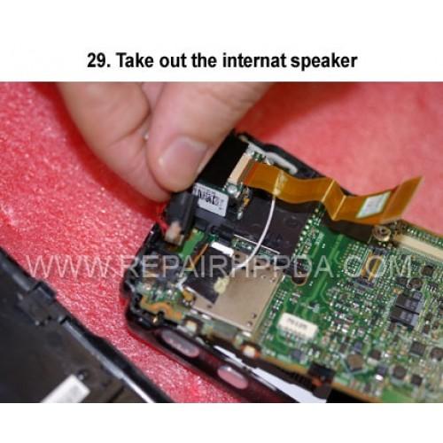 29. Take out the internat speaker