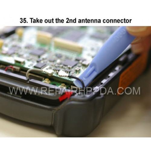 35. Take out the 2nd antenna connector