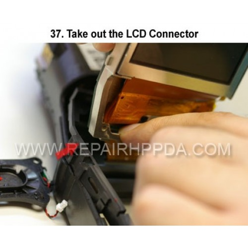 37. Take out the LCD Connector