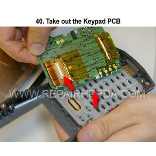 40. Take out the Keypad PCB