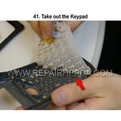 41. Take out the Keypad
