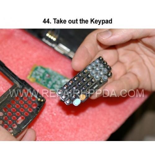 44. Take out the Keypad