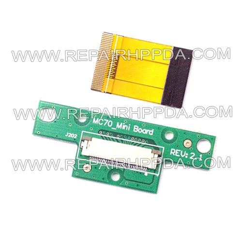 Cradle Mini PCB with Flex Cable set Replacement for Symbol MC70, MC7004, MC7090, MC7094