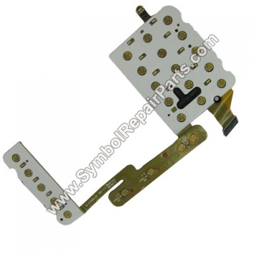 Keypad PCB with Flex Cable Replacement for Motorola Symbol WT4000, WT4070, WT4090