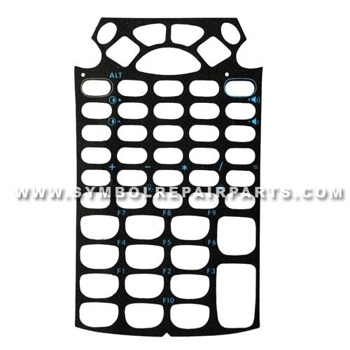 Keypad Plastic Cover Replacement (53 Keys) for Symbol MC9090-G RFID, MC9090-Z RFID