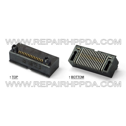 I/O Cradle Connector (16 Pins) for Symbol MC50, MC5040