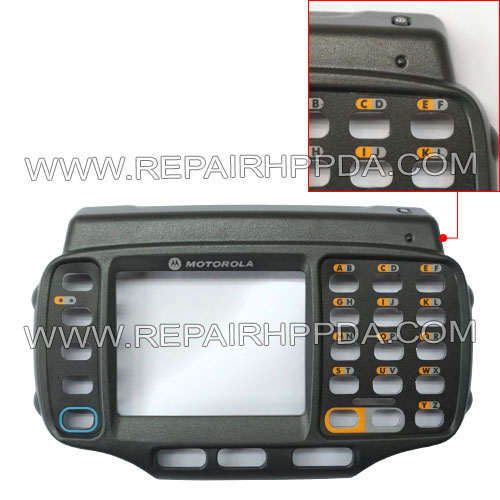 Front Cover (with Power button, overlay, lens) Replacement for Symbol WT4000, WT4070, WT4090