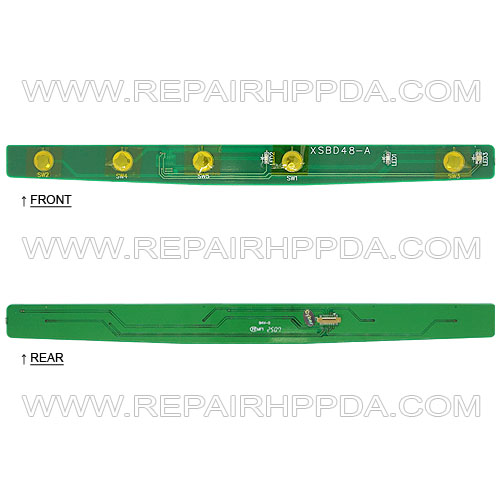Menu Keypad PCB for Symbol VC5090 (Full Size)