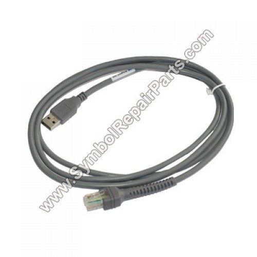 Symbol (Series A Connector) Scanner Cable for Symbol (25-53492-22)  LS3408-ER, LS3408-FZ series